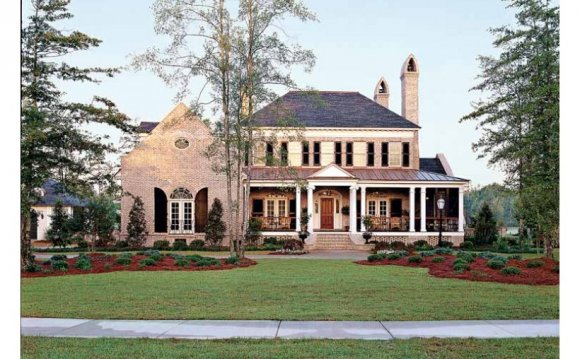 Southern Living French Country House plans