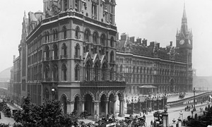 The Midland Grand Hotel London, circa 1905.