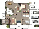 Architectural House Floor plans