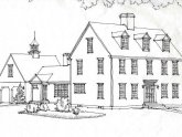 Historic, Colonial House plans