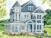 Queen Anne architecture Characteristics