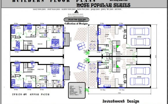 Townhouse Design plans