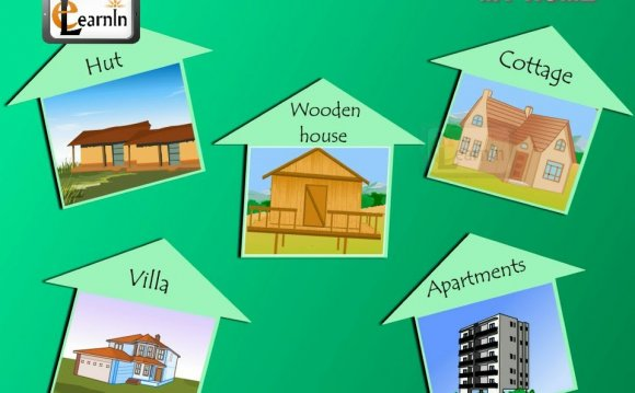 Name of different types of houses