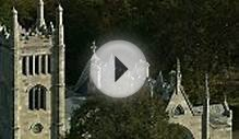 Aerial Lyndhurst Gothic Revival Country House Tarrytown