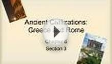 Ancient Civilizations: Greece and Rome