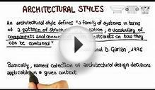 Architectural Styles - Georgia Tech - Software Development