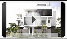 Architecture White Modern House Plans