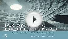 AudioBook Roman Building: Materials and Techniques Free