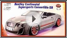 Bussy & Speedy build a FAMOUS English BENTLEY Toy Car Demo