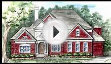 CLASSIC REVIVAL - GREEK REVIVAL HOUSE PLANS BY GARRELL