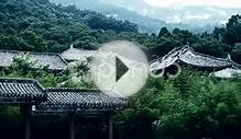 clip 11978205: China ancient architecture in bamboo forest.