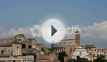 clip 51164208: Time lapse from Roman Forum in Italy