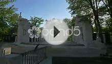 clip 56378804: Stage of Roman theater, located on an