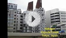 Different shapes (types) of buildings in the world