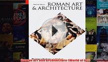 Download PDF Roman Art and Architecture World of Art FULL FREE