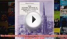 Download PDF The Gothic Revival and American Church