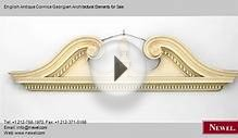 English Antique Cornice Georgian Architectural Elements