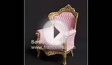 French baroque style furniture linked to that of King