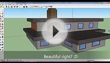 Google SketchUp: Speed Design - Nice house
