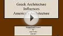 Greek Architecture Influences America's Architecture