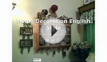 Home Decoration English Style