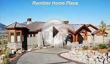 Home plans, House designs, Habitations Ramblers style homes