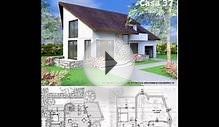 House plans ande exterior design attic style house