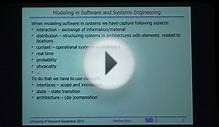 Model Based Software and Systems Engineering: Elements of