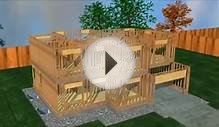 Modern Architecture Building An House Animation