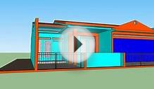 New Style 3D House design model rumah 3D