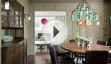 Remodeled Tudor home in Massachusetts mixes color and