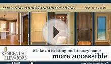 Residential Elevators - Home Elevator - Luxury - Traction