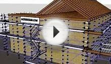 Scaffold Design 3D Kwikstage Design - residential house by