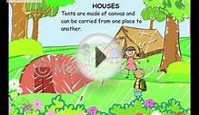 Science Lessons -- Learn the types of Houses