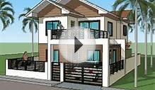 Simple House Plan Designs - 2 Level Home