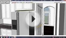 Sketchup Southern Colonial House