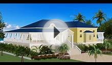 Tradewinds Villa plans and design; Lowbay Barbuda