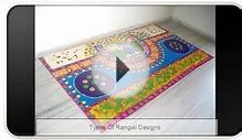Types Of Rangoli Designs