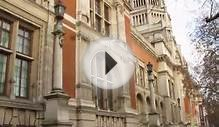 Victoria & Albert Museum (Building)-London-Live Video von