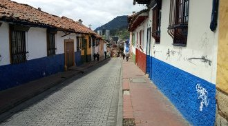 View of La Candelaria, Bogota's historic district and location of the conference