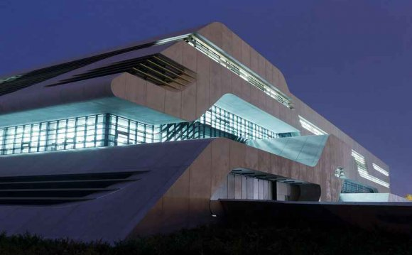 Zaha Hadid style of architecture