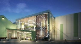 Designed by KSS Architects, AeroFarms, in Newark, N.J., will be the world's largest vertical farm.